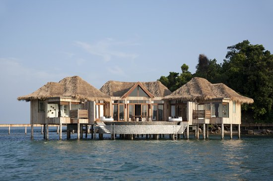 Song Saa Private Island: 2-bedroom overwater villas