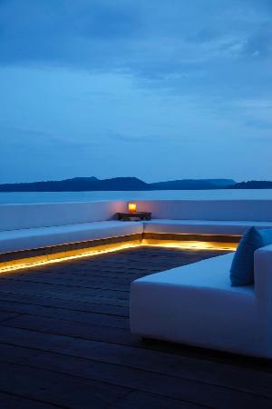 Île privée de Song Saa : Twilight at Vista Restaurant
