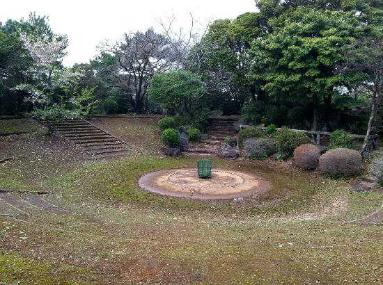 Yumiharidake Observation Deck: A sort of amphitheater