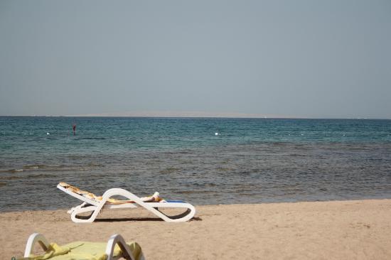 Golden 5 Diamond Resort: Am Strand