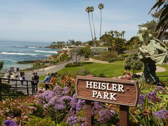 Laguna Beach, Califórnia: Heilser Park
