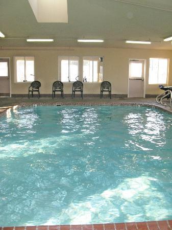 Best Western Nebraska City Inn : Clean Swimming Pool Area