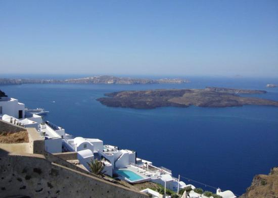 Tholos Resort: The view from our terrace