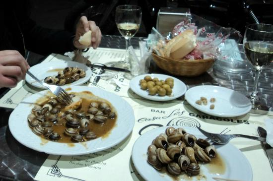 Los Caracoles : Lumache in umido (1/2 razione)