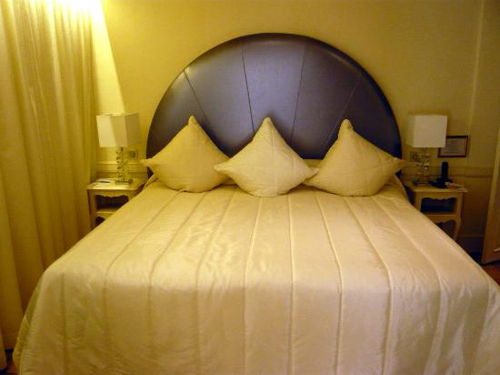 Auberge de Cassagne & Spa : le lit d'un très grand confort