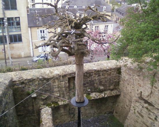 Entre Cours et Jardins - Cité Plantagenêt: De l'art ?