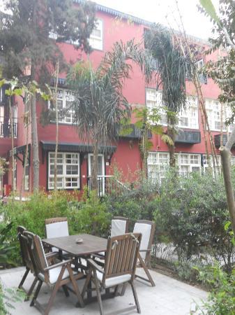 Villa Belle Epoque: jardin