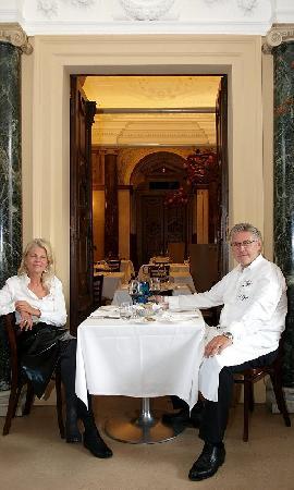 Veronika Doppler Mit Christian Domschitz Picture Of Restaurant