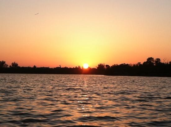 Captiva Kayak Company & Wildside Adventures : Sundown on Pine Island Sound