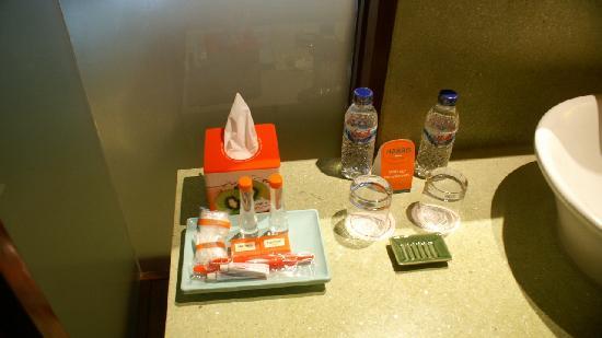 โรงแรมแฮร์ริส  ตูบัน: Salle de bain