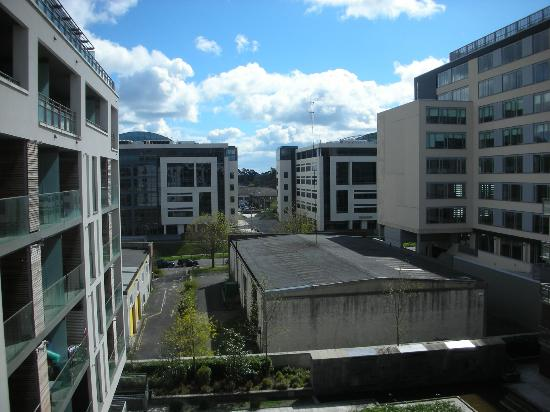 PREMIER SUITES Dublin Sandyford: View from Apt 73; Microsoft to the left!
