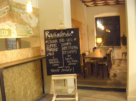 Radicetonda: Ristorante e take away bio-veg