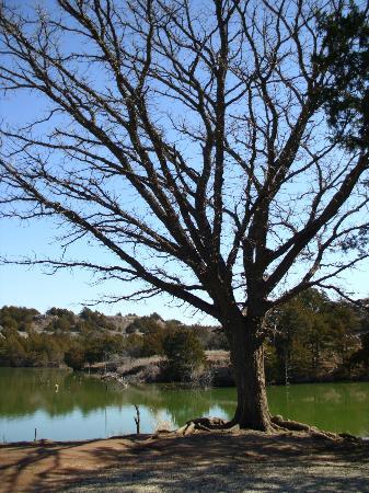 Roman Nose State Park: Lake view
