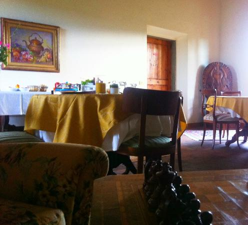 B&B il Giglio Etrusco: la sala da pranzo