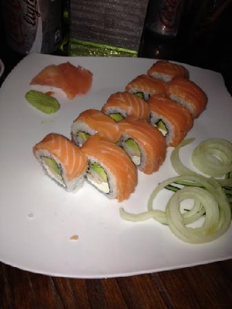El Sushi de Holbox: Gus rolls, nice sushi
