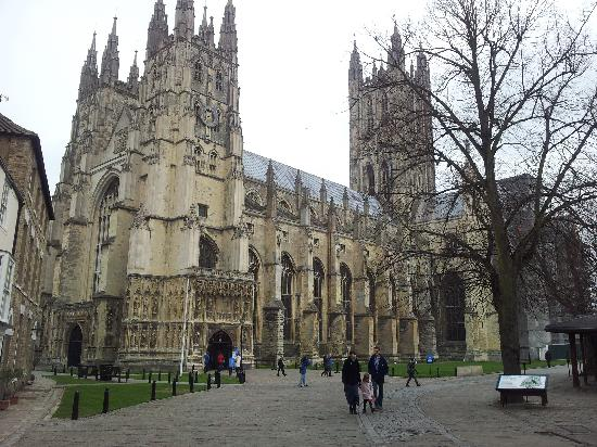 Canterbury Cathedral: La cattedrale
