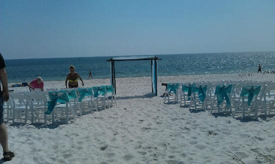 Wedding On The Beach Driftwood Inn Mexico Fl