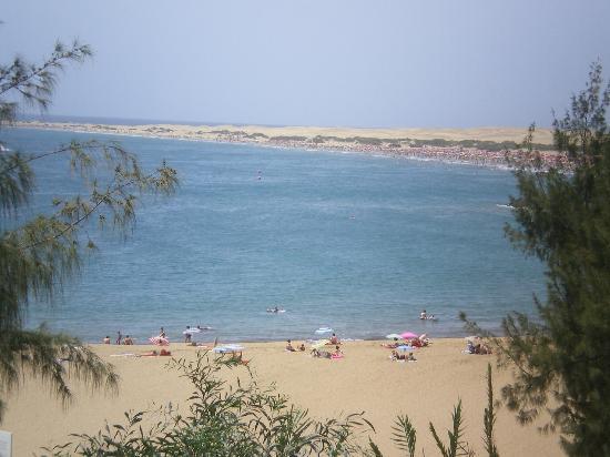 El Chaparral: la plage depuis la promenade