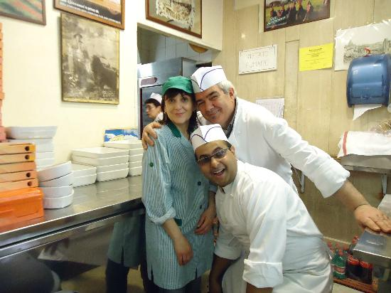 Taverna Volpetti: Some of Volpetti's staff