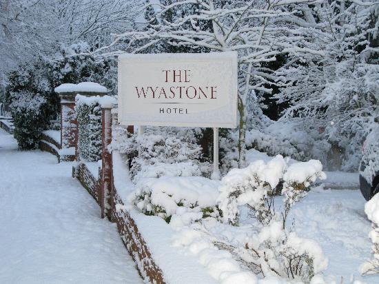The Wyastone: Wyastone in the snow