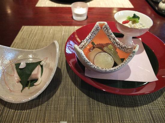 Taketoritei Maruyama: appetiser