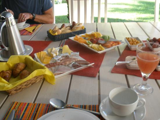Kleinbosch Lodge: breakfast