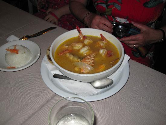 El Timon: Lobster tail soup