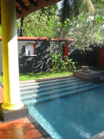 Vivanta by Taj - Kumarakom: Plunge Pool in the Premium Temptation Villa
