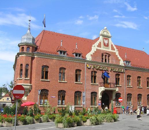Rybnik, Poland: Main Post Office (Poczta Główna)