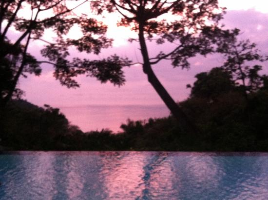Makanda by the Sea: Pool Sunset