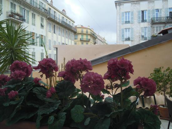 Hotel Lepante: vista dalla finestra