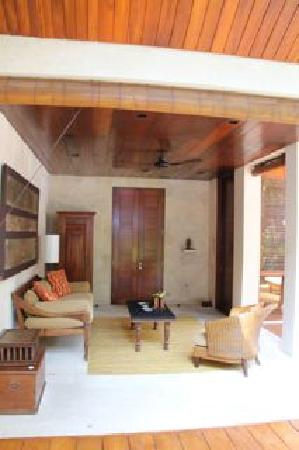 Four Seasons Resort Bali at Sayan : Patio de la villa