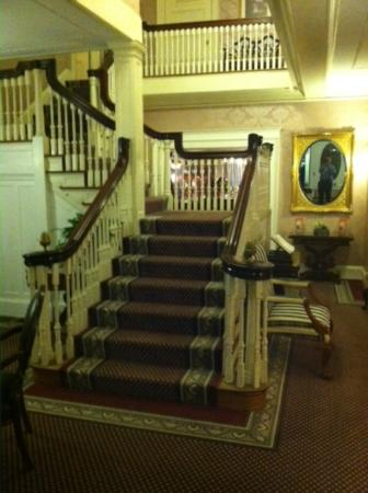 Gateways Inn: The Grand Stairway and Foyer
