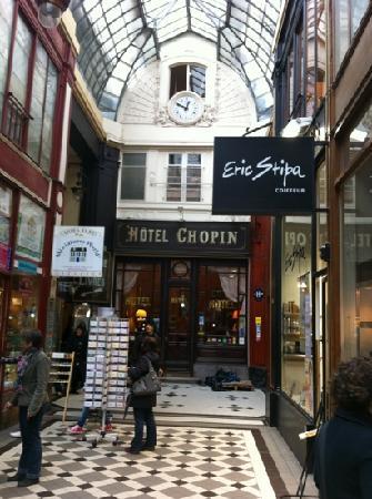 la tres belle Hotel Chopin