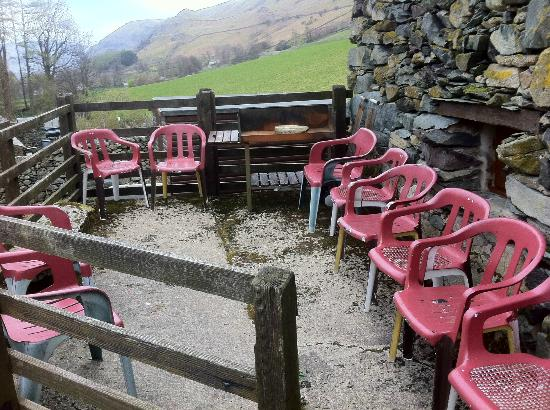 Stybeck Farm: Surely they could replace these chairs
