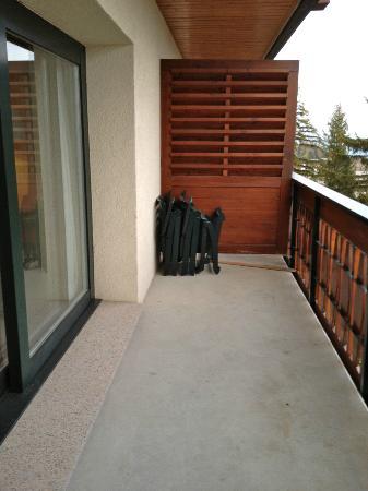 Hotel Royal: balcon