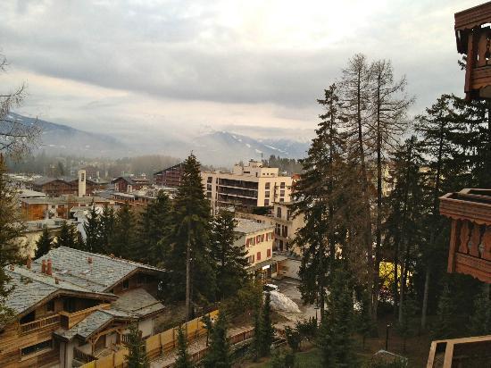Hotel Royal: Vue depuis le balcon