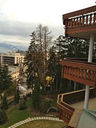 Hotel Royal: Vu depuis le balcon