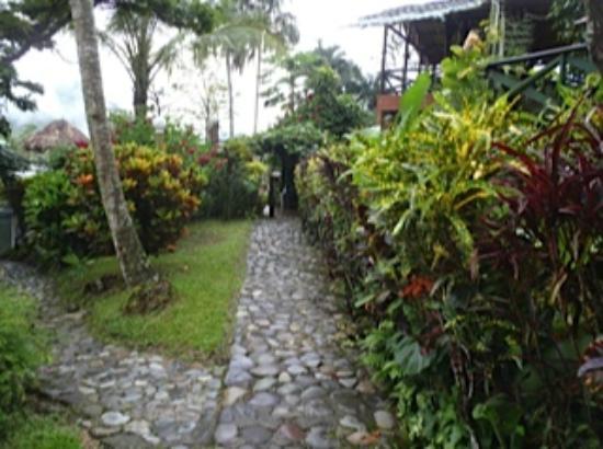 Mirador del Pipinta: Walk way to look out
