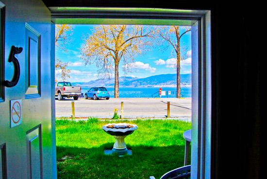 Black Sea Motel & Restaurant: View from beachfront unit