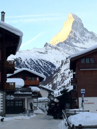 Walliserstube Zermatt: Located on a street five minutes walk from downtown