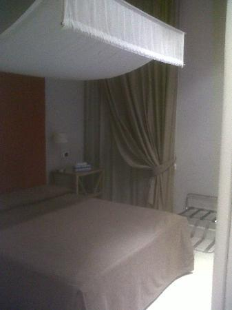 Hotel Villafranca: the room