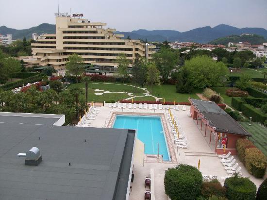 Terme Venezia Hotel: piscina termale esterna