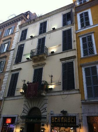 Hotel Del Corso: Vista del hotel