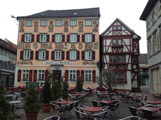 Hotel Karpfen : the hotel with it's history on the walls