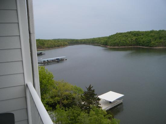 WorldMark Lake of the Ozarks: Looking east