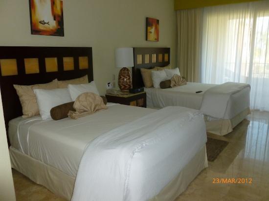 Villa del Palmar Cancun Beach Resort & Spa : chambre standard