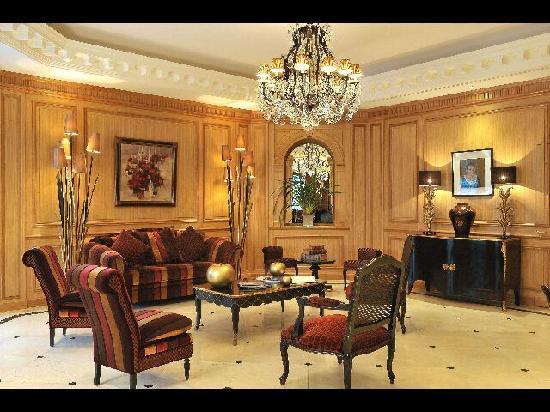 Villa Lara : Le lobby