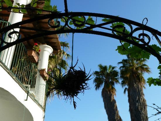 Hotel Villa Campo: auf dem Weg zum Frühstück...