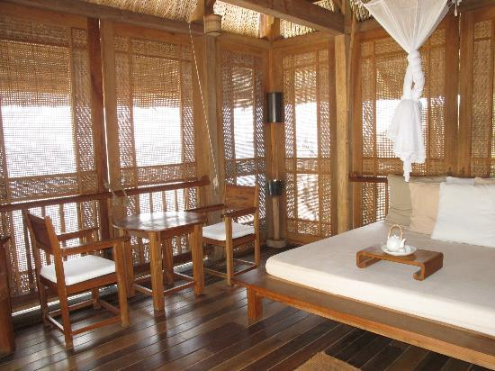 Six Senses Ninh Van Bay: Salon de la Rock Villa 4